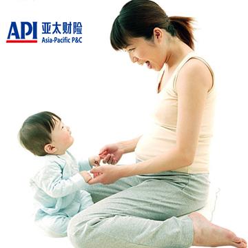 """亚太""""好孕""""母婴安康保险"""