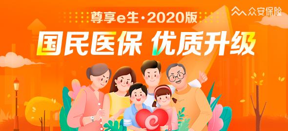 众安尊享e生2020版